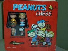 Peanuts Chess Set - Red Tin