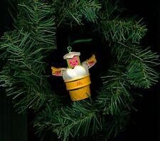 Turbo ice cream cone McDonalds Robot Changeables custom Christmas tree ornament