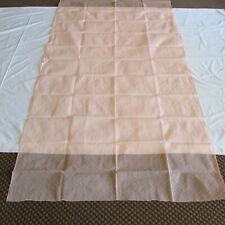 PINK Fabric Sari MATERIAL FOR Sewing DRESS SUIT OUTFIT Craft DECORATION Projects