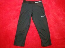 Nike Pro Boys Black Pants Leggings Size XL