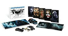 The Dark Knight Trilogy Ultimate Collector's Edition Batman Box Set Blu Ray VHTF