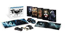 The Dark Knight Trilogy Ultimate Collector's Edition Batman Box Set Blu Ray VHTF