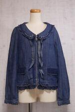 axes femme Denim Jacket Japanese Style Fashion Cute Sweet Dreamy 11