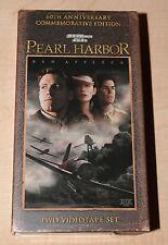 Pearl Harbor VHS, 2-Tape Set, 2001 60th Anniversary Commemorative