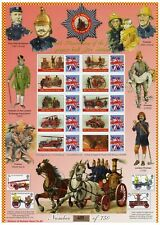 300th Anniversary Of The First Purpose Built Fire Station. 2009 Smiler Sheet.