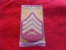 US Marine Corps - Male Sergeant Chevrons E-5 - Dress Blues - NEW