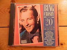 Bing Crosby - 20 Golden Memories