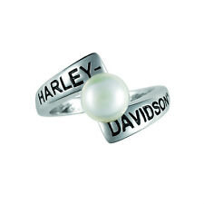 Harley-Davidson® June Birthstone Ring - Fresh Water Pearl - size 6 D4J8816