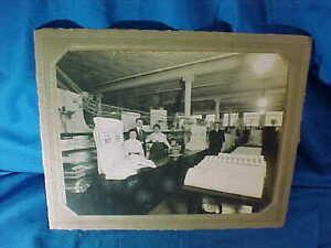 1915 FOWLERS DEPARTMENT STORE Binghamton NY DRY GOODS Dept INTERIOR PHOTO