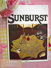 Vintage Knitting Pattern For Table Cloth Centre Beautiful Lace Look FREE UK P&P