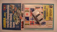 Slot H0 AURORA AFX FORD CAPRI 18 NATIONS Nr.1828 weiß f. FALLER AMS TYCO TOMY AW