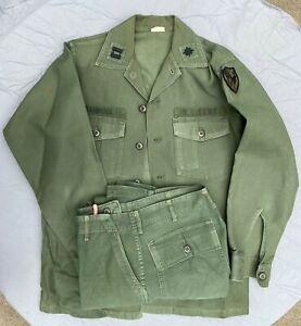 Vietnam War OG-107 Cotton Sateen Fatigue Shirt and Pants