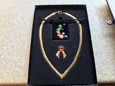 Joan Rivers Stunning Interchangable Necklace,with 9 Colours