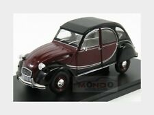 Citroen 2Cv Charleston 1982 Red Black EDICOLA 1:24 SALRMIT007