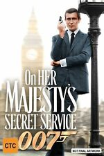 On Her Majesty's Secret Service (DVD, 2006, 2-Disc Set) George Lazenby