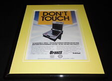 U Force 1988 NES Nintendo Broderbund 11x14 Framed ORIGINAL Vintage Advertisement