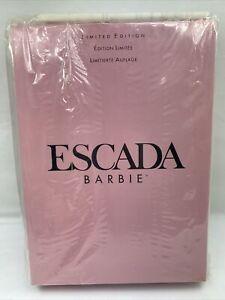 1996 Escada Barbie doll No. 15948 Limited Edition **Original Shipping Plastic**