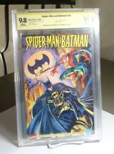 Spider-Man and Batman #1 CBCS SS (like CGC) 9.8 NM/MINT SIGNED Budiansky & Hanna