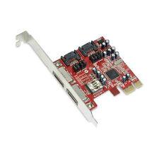 SiI 3132 4-Port SATA II 3.0Gbps PCI-E PCI Express Controller Card