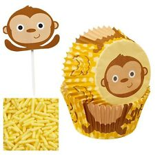 Monkey Cupcake Decorating Kit Wilton 2198 NEW