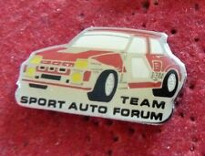 RARE PIN'S VOITURE RALLYE R 5 TURBO RENAULT TEAM SPORT AUTO FORUM