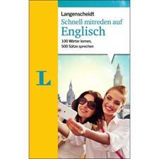 NEU: Langenscheidt - Schnell mitreden auf ENGLISCH. Der einfache Sprachführer