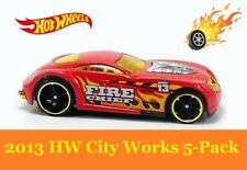 Sir Ominous. Fire Chief. 2013 HW City Works 5-Pack EXCLUSIVE. X9858. Loose.