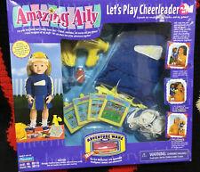 Playmates Amazing Ally Let's Play Cheerleader Set Adventure (1999) Nib