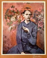 Hand signed Picasso 65 yr print 1954 portfolio Chagall Dali Matisse contemporary