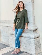 BODEN  Damen Bluse Shirt Curved Seam Top  UK.16  42 44 Neu