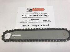 RGC Chainsaw C50 (Old Mini) `13 Inch Premium Concrete Chain and Guide Bar