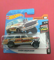 HOT WHEELS - 64 NOVA WAGON GASSER - HW RACE DAY - SHORT CARTE - FYD77 - R 5973