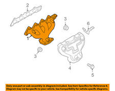 Chevrolet GM OEM 04-08 Aveo-Exhaust Manifold 96481526