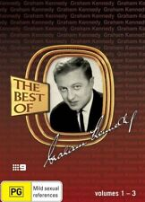 The Best Of Graham Kennedy Vol 1 - 3 (3-Disc Box Set) = NEW DVD R4