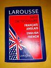 LAROUSSE Mini Dictionnaire French/ English Anglais/ Francais Pocket Dictionary