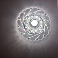 LED Kristall Deckenleuchte Hängeleuchte Modern Wohnzimme Lampe Pendelleuchte DE