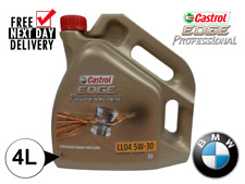 CASTROL EDGE(15359A)5W30 LL04 Longlife 4 BMW *WAREHOUSE CLEARANCE*ACEA C3 API SN