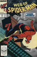 WEB of SPIDER-MAN #49, NM, Val Mayerik, 1985 1989, more Marvel in store