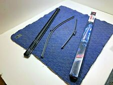 """AUDI VW BOSCH AeroTwin Front Wiper Blades PAIR 650/450mm 26"""" 18"""" A863S 2008 OEM"""