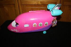 Shopkins Shoppies Air Skyanna's Jet Plane Airplane NWT