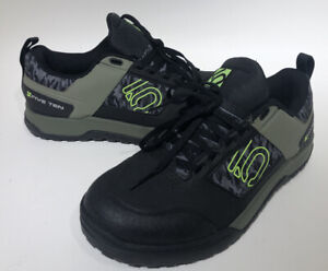 New Men's Five Ten 5.10 Adidas Hellcat Mountain Bike Shoes Size 9 Black/Yellow