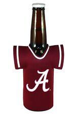 Alabama Crimson Tide Jersey Bottle Coozie - Kaddy Holder Koozie Drink Cooler