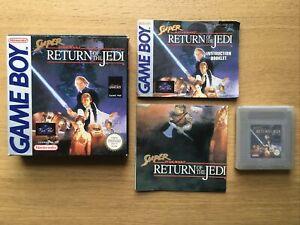 Super Star Wars Return Of The Jedi Nintendo Gameboy Complete PAL