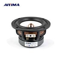 AIYIMA 1PC 4Inch Full Range Audio Speaker 4Ohm 8Ohm 30W HIFI Bass Loudspeaker