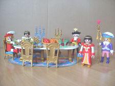 Playmobil 100% Complete Set 3021 conte de fées château royal Banquet ensemble salle à manger