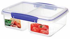 Sistema KLIP IT Large Split Food Container - 2 L, Blue NEW