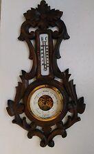 Antico Barometro Termometro Antique Barometer Guignard Yverdon Scala Reaumur