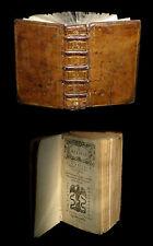 [ITALIA Imp. LYON Guillaume ROUILLE] PETRARQUE - Il Petrarca. 1551.
