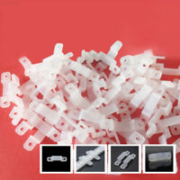 822B Soft Silicon Fastener Fixer Silicon Clip 5050 5630 LED Strip Light