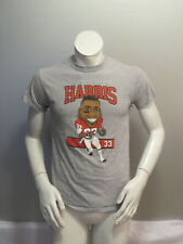 BC Lions Shirt - Andrew Harris Cartoon Graphic with Signature - Men's Small